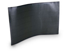 flexible thin film photovoltaic module SOL100FLEX 90-115 W solarion