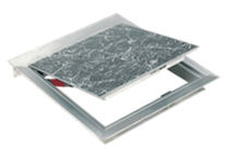 floor hatch for ceramic tiles R-APS      U.S.F. Fabrication Inc.