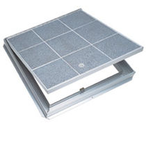 floor hatch for ceramic tiles TER & TRD The Bilco Company