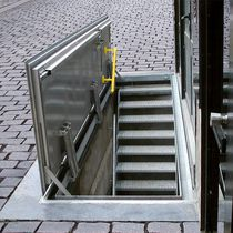 floor hatch with water drainage WA-AL Gorter