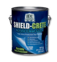 floor paint H&C® SHIELD-CRETE® ACRYLIC CLEAR GLAZE Sherwin-Williams