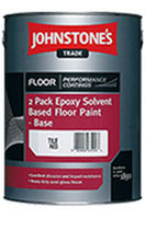 floor paint (European Eco-label) TWO PACK EPOXY SOLVENT BASED Johnstone's / PPG Archiectural Coatings