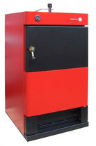 floor standing wood burning boiler (logs) CML 50 MET MANN