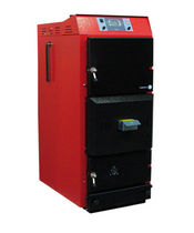 floor standing wood burning boiler (logs) GLUP-82-HT MET MANN