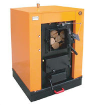 floor standing wood burning boiler (logs) MORVAN AFX Saint Roch