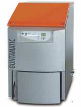 floor standing wood burning boiler (logs) SYNCHRO 31/34/44 KW Guntamatic Heiztechnik GmbH