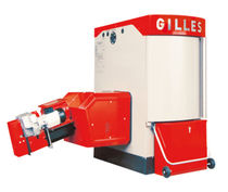 floor standing wood burning boiler (logs) HPK-RA Gilles Energie- und Umwelttechnik GmbH &amp; Co KG