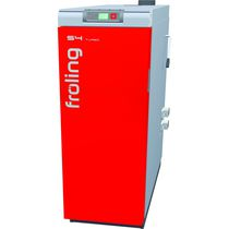 floor standing wood burning boiler (logs) S4 TURBO FROLING