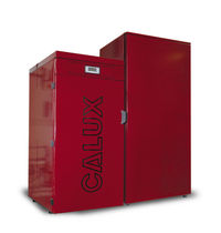 floor standing wood pellet boiler SINTESI 15 KW Calux Srl