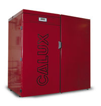 floor standing wood pellet boiler SINTESI 34 KW Calux Srl