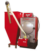 floor standing wood pellet boiler with pellet storage CBS FACI di Matricciani Vincenzo sas