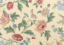 flower fabric GELINOTTE Boussac