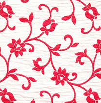 flower fabric BORGHESE : ALLOWER  TUSSY XXI