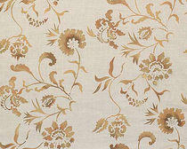 flower linen fabric EDEN Nomi Fabrics