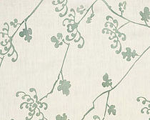 flower linen fabric IKEBANA Nomi Fabrics