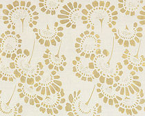 flower linen fabric MARGUERITE Nomi Fabrics