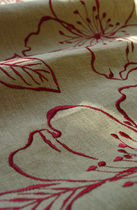 flower linen fabric AVIGNON Olivier Thévenon Selection