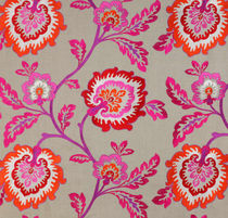 flower linen fabric SAMIRA  MANUEL CANOVAS