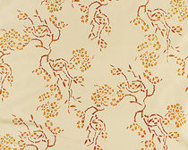 flower silk fabric BLOSSOMS Nomi Fabrics