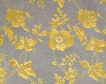flower silk fabric OLIMPIA Fadini Borghi