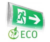fluorescent emergency exit sign SMART 44 ECO TM Technologie Sp. z o.o.