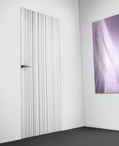 flush swing door WAVE by Massimo Cavana  Res Italia