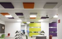 foam sound absorption panel (for ceilings)  Texaa