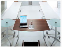 folding boardroom table I-EM  MSL Interiors Ltd