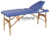 folding massage table WOOD  SOLARIA