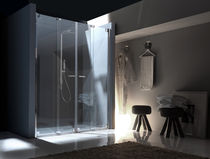 folding shower screen NUBIAN (CENTRALE) Bianchi &amp; Fontana