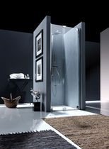 folding shower screen for niche shower NUBIAN Bianchi &amp; Fontana
