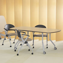 folding table with casters for public buildings TIM Versteel