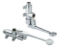foot pedal double handle mixer tap 9057  RUBINETTERIE MCM