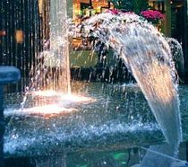 fountain for public spaces FAN  Crystal Fountains