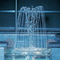 fountain for public spaces SPRAY RING Crystal Fountains