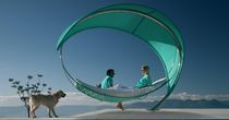 freestanding hammock WAVE by Erik Nyberg - Gustav Ström - Kris Van Puyvelde Royal Botania - Red Label