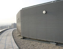 galvanized steel solar shading GLP70 AUTOGYRE