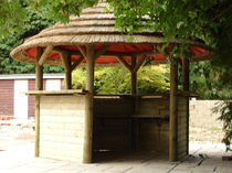 garden bar with thatch roof 3.2M  The Lapa Company   The Lapa Company