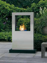 garden central fireplace (bioethanol open hearth) CUBICO XT by Jan des Bouvrie Safretti