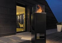 garden central fireplace (bioethanol open hearth) ELLETRE DEMAPROJECT s.r.l.