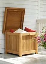 garden cushion chest KISSENTRUHE QUADRATISCH Garpa