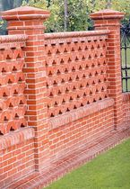 garden fence clay brick  FORNACE BALLATORE GIUSEPPE