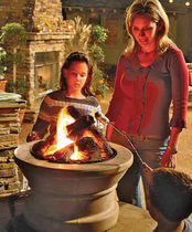 garden hearth PATIO CAMPFIRE QUADRA-FIRE