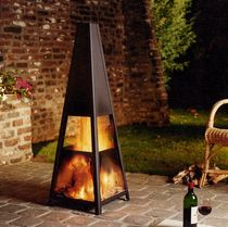 garden open central fireplace AR 006 BLOCH DESIGN