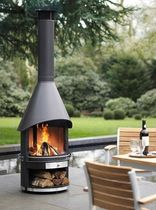 garden open central fireplace GARTENKAMIN Garpa