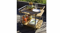 garden trolley table ASCOT Cane-line A/S