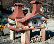 garden wood oven CONTADINO Amiata Caminetti
