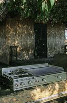 gas barbecue L80 MIX by Jacques Toussaint DIMENSIONE DISEGNO