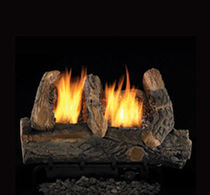 gas fire basket VANTAGE HEARTH: VINTAGE OAK Fmi