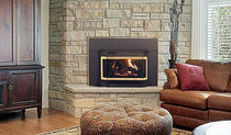 gas fireplace insert CLUMBIA BAY QUADRA-FIRE